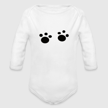 day dog lover gift idea sweet pet - Organic Long Sleeve Baby Bodysuit