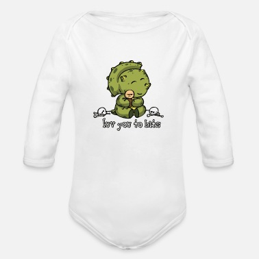 Piece Bits Pieces - Organic Long-Sleeved Baby Bodysuit