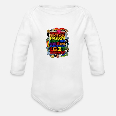 Marriage Equality Equality, Equal Rights, Equality Shirt, Marriage - Organic Long-Sleeved Baby Bodysuit