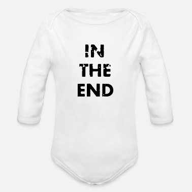 End In the end - Organic Long-Sleeved Baby Bodysuit