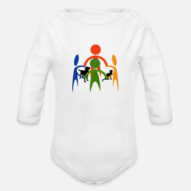 Animal Protection Animal protect - Organic Long-Sleeved Baby Bodysuit