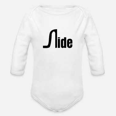 Side Side - Organic Long-Sleeved Baby Bodysuit