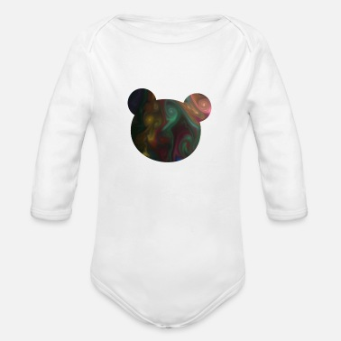 Nice koala pattern - Organic Long-Sleeved Baby Bodysuit