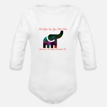There is always tomorrow - Organic Long-Sleeved Baby Bodysuit
