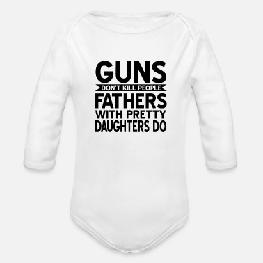 Father And Daughter Father And Daughter - Organic Long-Sleeved Baby Bodysuit