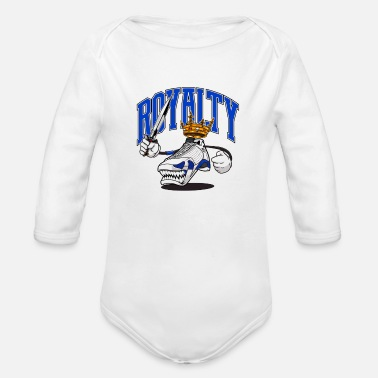Streetwear ROYALTY - Organic Long-Sleeved Baby Bodysuit