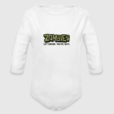 Zombies - Organic Long Sleeve Baby Bodysuit