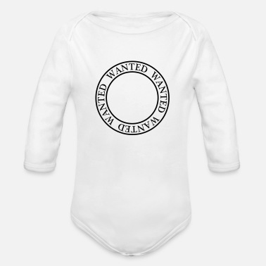 Wanted Wanted - Organic Long-Sleeved Baby Bodysuit