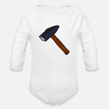Hammer hammer - Organic Long-Sleeved Baby Bodysuit