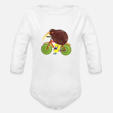 New Age New England new school new orleans new age - Organic Long-Sleeved Baby Bodysuit