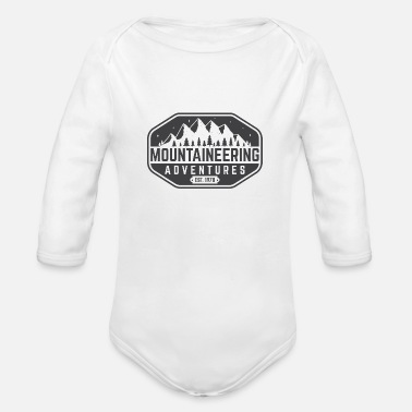 Advent mountaine advent - Organic Long-Sleeved Baby Bodysuit