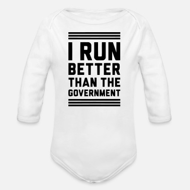 Government Governement - Organic Long-Sleeved Baby Bodysuit