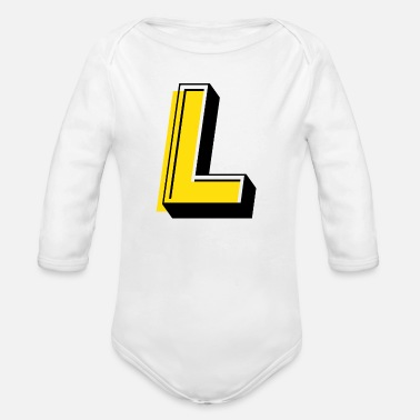 Linejudge - Organic Long-Sleeved Baby Bodysuit