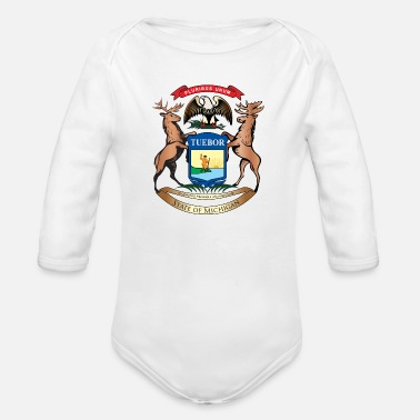 Pure Michigan - Organic Long-Sleeved Baby Bodysuit