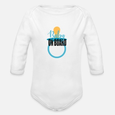 Grow getting a baby - Organic Long-Sleeved Baby Bodysuit