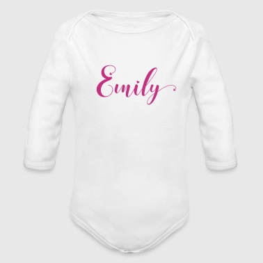 emily - Long Sleeve Baby Bodysuit