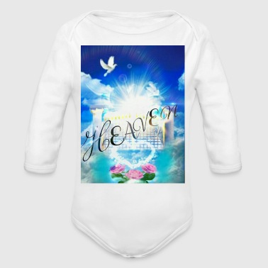 Heaven's Gates - Organic Long Sleeve Baby Bodysuit