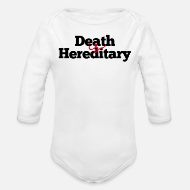 Hereditary hereditary - Organic Long-Sleeved Baby Bodysuit