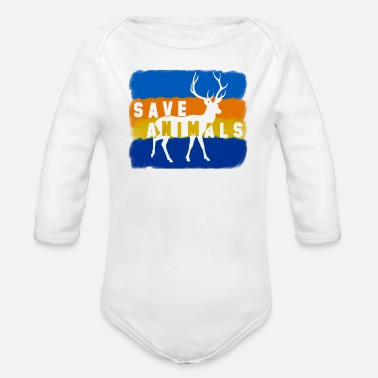 Animal Welfare Animal welfare - Organic Long-Sleeved Baby Bodysuit