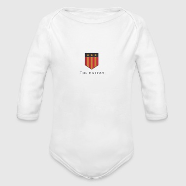 The Nation - Organic Long Sleeve Baby Bodysuit