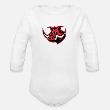 Hog Hog - Organic Long-Sleeved Baby Bodysuit