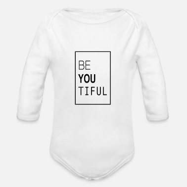 Beautiful Beautiful - Organic Long-Sleeved Baby Bodysuit