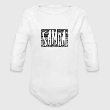 Tradition traditional Samoa - Organic Long Sleeve Baby Bodysuit