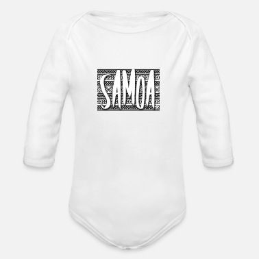 Tradition traditional Samoa - Organic Long-Sleeved Baby Bodysuit