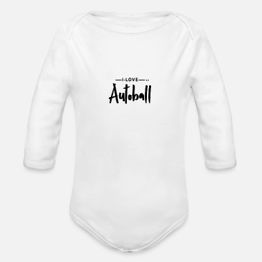 Ball Sport Autoball Ball Sports - Organic Long-Sleeved Baby Bodysuit