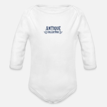 Antique Collector Antique Antiquities Antiquities Collect - Organic Long-Sleeved Baby Bodysuit