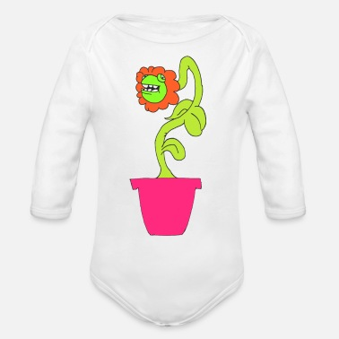 Plant Grounds PLANT - Organic Long Sleeve Baby Bodysuit