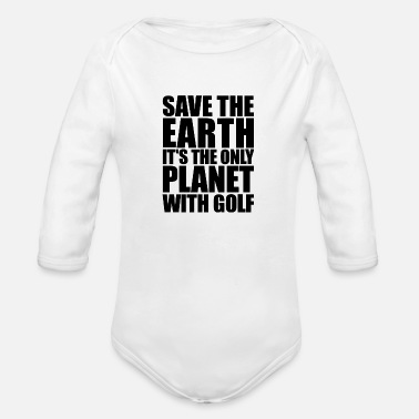 Saving Save - Organic Long-Sleeved Baby Bodysuit