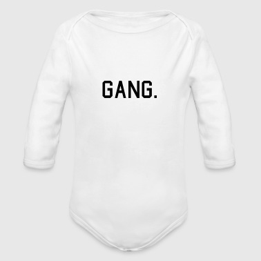 Gang GANG. - Organic Long Sleeve Baby Bodysuit