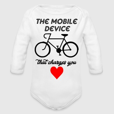 mobile divice - Organic Long Sleeve Baby Bodysuit