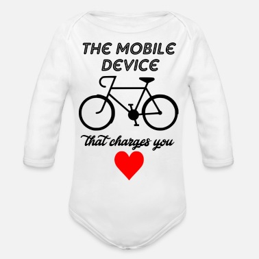 Mobile mobile divice - Organic Long Sleeve Baby Bodysuit