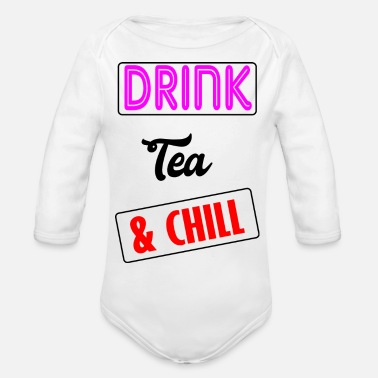 Tea tea - Organic Long Sleeve Baby Bodysuit