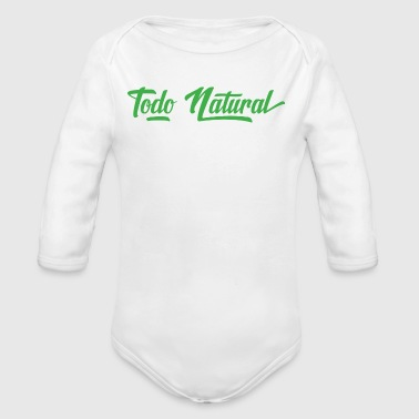 Todo Natural All Natural - Organic Long Sleeve Baby Bodysuit