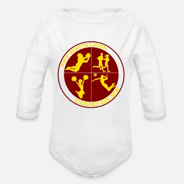Count Royal Count on Me Gold - Organic Long Sleeve Baby Bodysuit