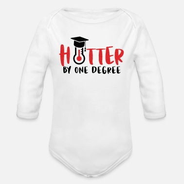 Graduation Party Funny Graduate Graduation Graduates party gift - Organic Long-Sleeved Baby Bodysuit