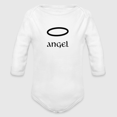 angel - Organic Long Sleeve Baby Bodysuit