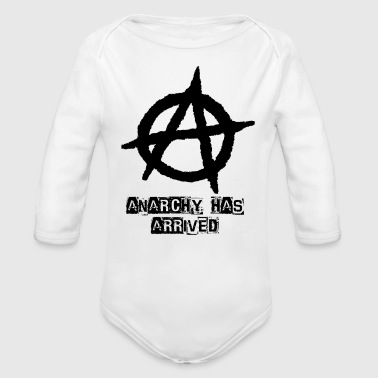 Punk Anarchy Has Arrived - Long Sleeve Baby Bodysuit