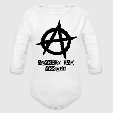 Punk Anarchy Has Arrived - Organic Long Sleeve Baby Bodysuit