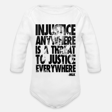 Martin Luther King Martin Luther King - Organic Long Sleeve Baby Bodysuit