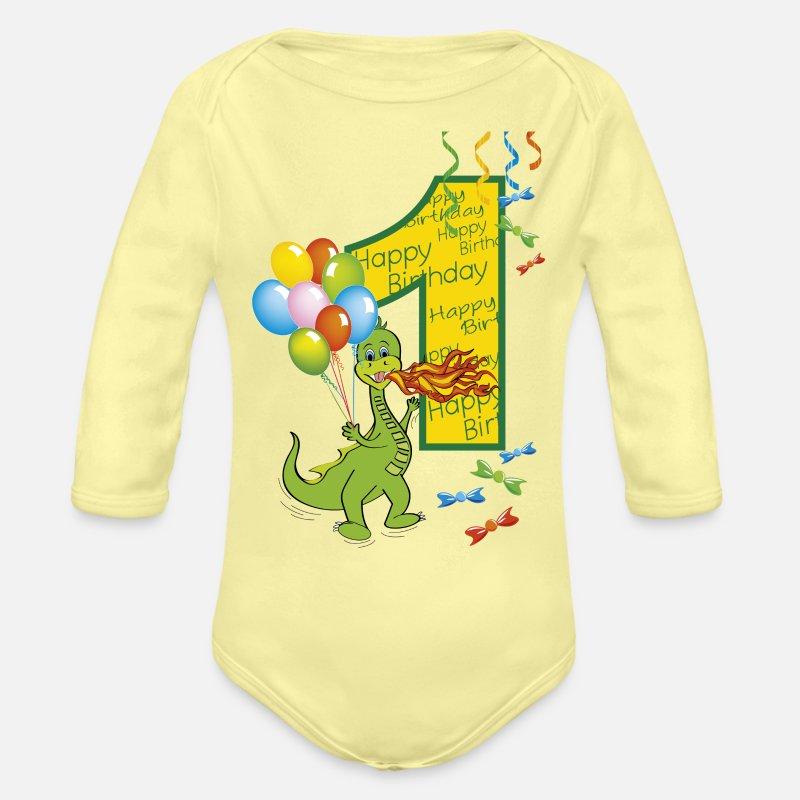 1st Birthday Gift for One Year old Infant Baseball Baby Long Sleeve Bodysuit 1