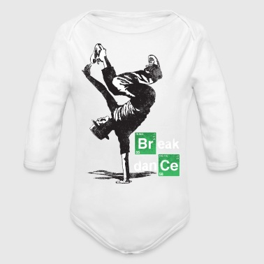 Break dance - Organic Long Sleeve Baby Bodysuit