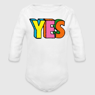 YES - Organic Long Sleeve Baby Bodysuit