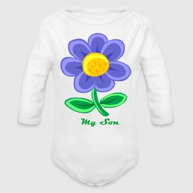 Son son - Organic Long Sleeve Baby Bodysuit