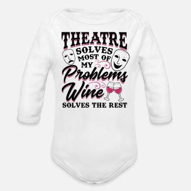 Broadway Fun Theatre Gift For Broadway Lovers - Organic Long-Sleeved Baby Bodysuit