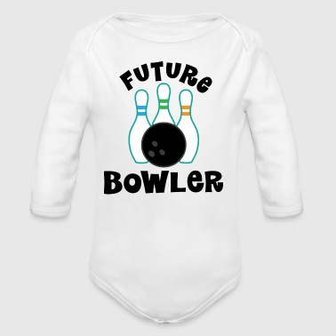 Bowling Future Bowler - Long Sleeve Baby Bodysuit
