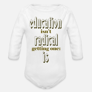 Education Culture education - Organic Long-Sleeved Baby Bodysuit